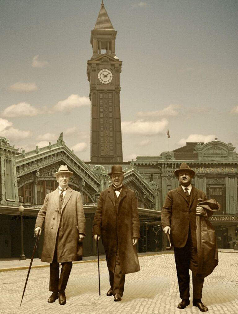 """""""Three Stalwart Gentlemen"""""""